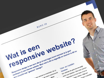 Altena Business: Wat is een responsive website?