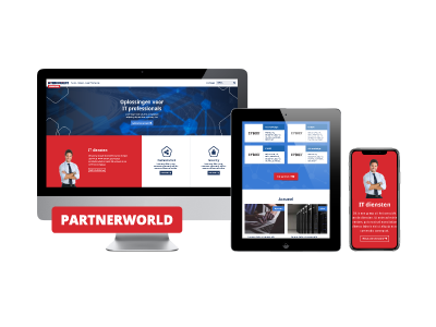 Website en portal Interconnect Partnerworld