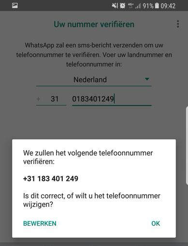 whats app business telefoonnummer verifieren kopie
