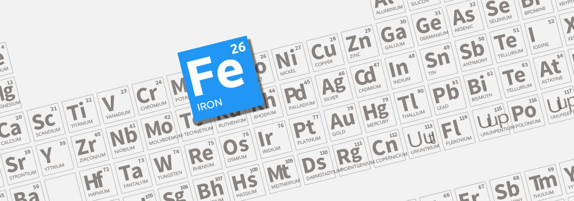 26 iron periodic table